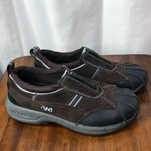 Ryka leather and rubber terrain zip